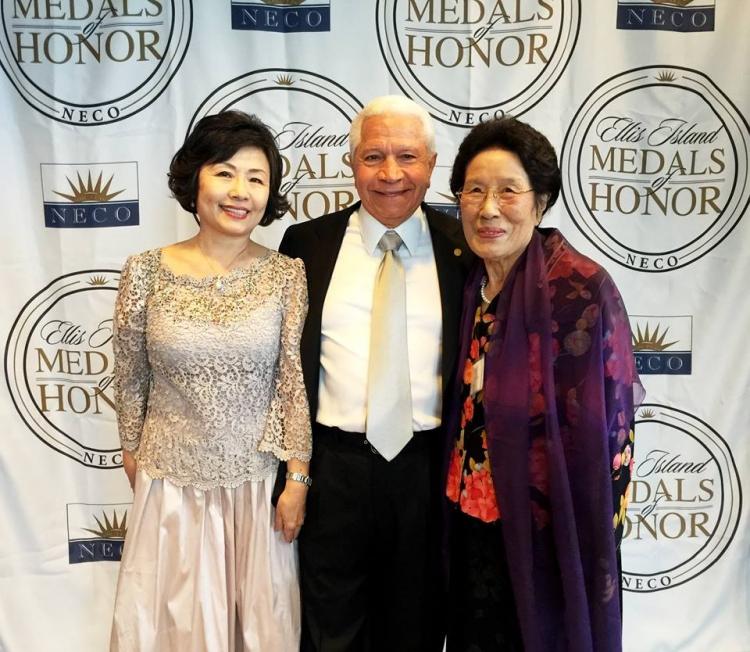 방숙자 명예 이사장님 2017 Ellis Island Medals of Honor 수상
