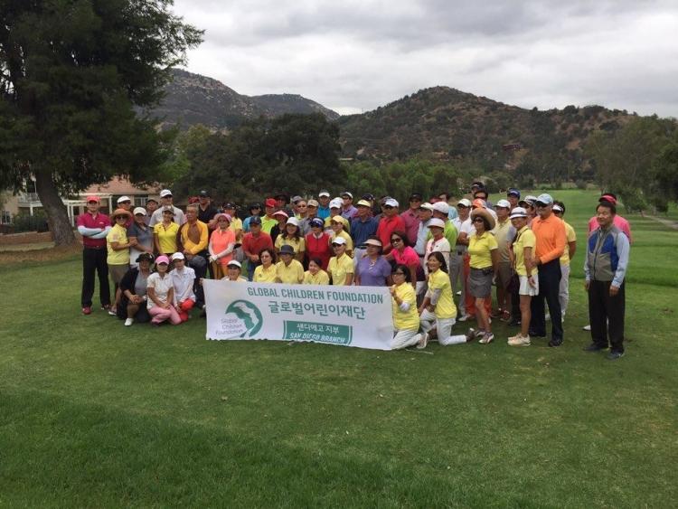 San Diego Branch_결식아동기금마련 골프대회